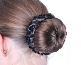 Knotband Sparkle zwart