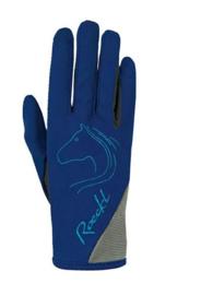 Handschoen Roeckl tryon blauw