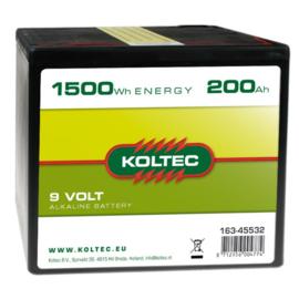 Batterij 200Ah
