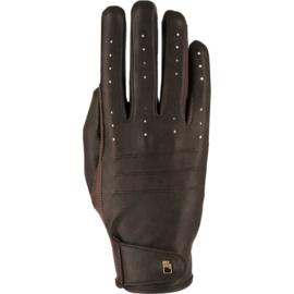 Handschoen Roeckl Malaga bruin