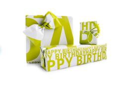 Verjaardag verpakking