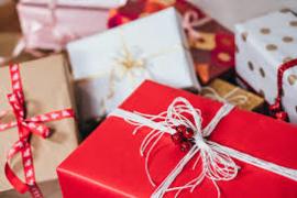 Kerst verpakking