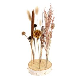 Wood & Dried Flowers Boho