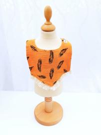 Slabbetje - Raffel Oranje Veer
