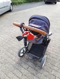 Kinderwagen Klem - Aluminium