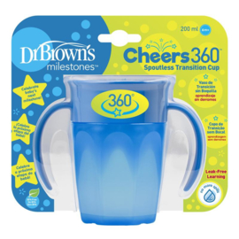 Drinkbeker - Cheers 360 Blauw (Dr Brown)