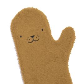 Baby Shower Glove - Zeehond - Caramel