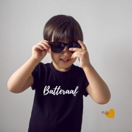 T- Shirt Zwart - Korte mouw - Batteraaf