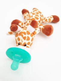 Speenknuffel - Giraffe (Met vaste speen (Nog 1 op voorraad))