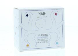 Naïf - Bad Bruistabletten 'Splashing Bath Bombs' (8x24gr)