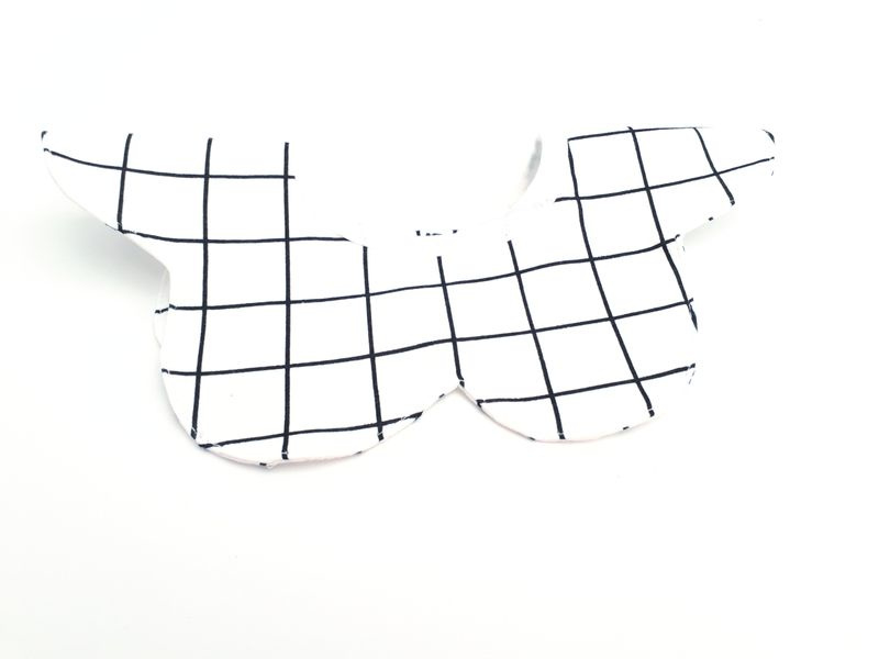 Slabbetje -360º Vierkant