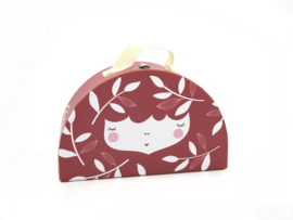 Yuunaa Kinderkoffertje rood
