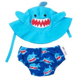 Zoocchini UV zwemluier setje - Haai