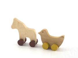 Pinch Toys Paard en Vogel
