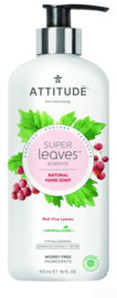 Attitude handzeep Red Vine Leaves