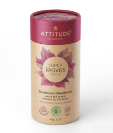 Attitude Deodorant White Leaves