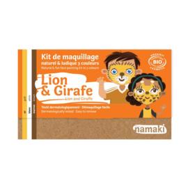 Namaki Bio Grime Kit 3 kleuren - Leeuw & Giraf