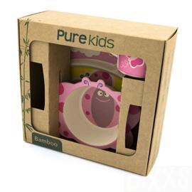 Pure Kids Kinder Servies Vlinder