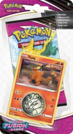 Pokémon - Sword & Shield 8 Fusion Strike Checklane Blister Tepig*
