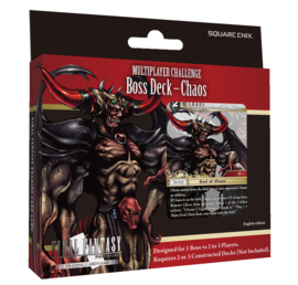 Final Fantasy TCG - Multiplayer Challenge Boss Deck - Chaos