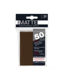 Ultra Pro - Standard Sleeves - Pro-Matte - Non Glare - Brown (50 Sleeves)
