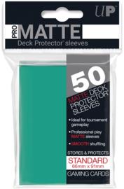 Ultra Pro - Standard Sleeves - Pro-Matte - Non Glare - Aqua (50 Sleeves)