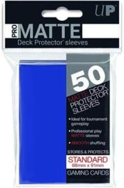 Ultra Pro - Standard Sleeves - Pro-Matte - Non Glare - Blue (50 Sleeves)