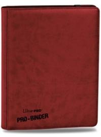 Ultra Pro - Premium Pro-Binder - 9-Pocket Portfolio - Red