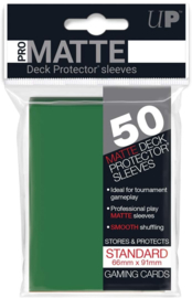 Ultra Pro - Standard Sleeves - Pro-Matte - Non Glare - Green (50 Sleeves)
