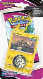 Pokémon - Sword & Shield 8 Fusion Strike Checklane Blister Blitzle*