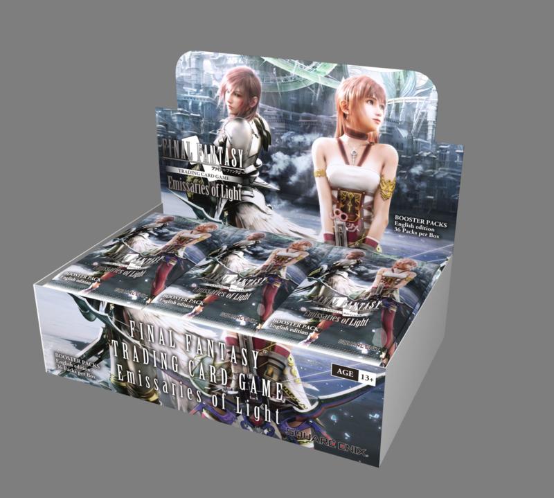 Final Fantasy TCG Emissaries Of Light Booster Pack*