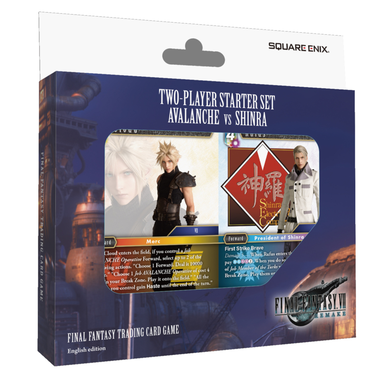 Final Fantasy TCG - FF VII REMAKE AVALANCHE VS SHINRA Two-Player Starter Set*