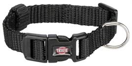 Trixie Halsband Premium Zwart