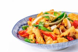 Kip met chili en knoflook (droog)