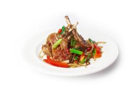 Chili Lamskotellen (droog) (Salt and pepper Lambchops)