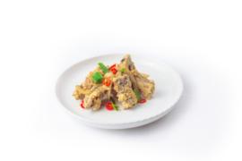 Spare Ribs met chili en knoflook (droog)