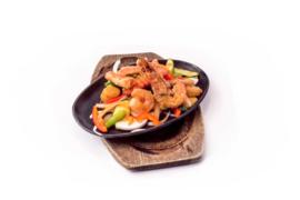 Mix Seafood Grill Sze chuan