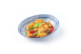 Prawns sweet and sour