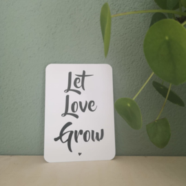 StippelZ Kaart Let Love Grow
