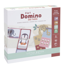 Little Dutch Domino puzzel dierentuin