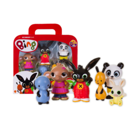 Bing set met 6 Speelfiguren