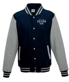 Saison Jacket Navy/Gray