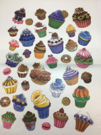 DECOPATCH PAPIER CUPCAKE