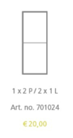 ALUMINIUM KADER 701024