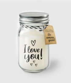 BLACK&WHITE VANILLE KAARS - I LOVE YOU
