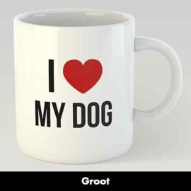 MOK I LOVE MY DOG GROOT