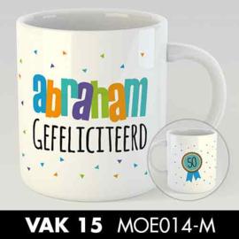 MOK ABRAHAM GEFELICITEERD KLEIN