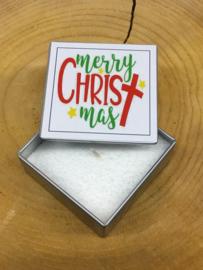 BLIK KAARS MERRY CHRISTMAS