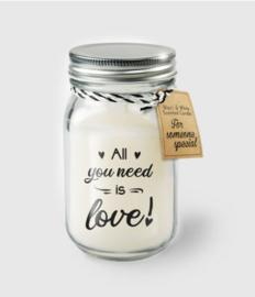 BLACK&WHITE VANILLE KAARS - ALL YOU NEED IS LOVE!