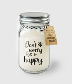 BLACK&WHITE VANILLE KAARS - DON'T WORRY BE HAPPY